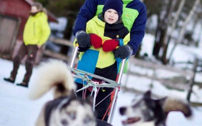 aktiviter vinter adventures sommer camp husky norge farm